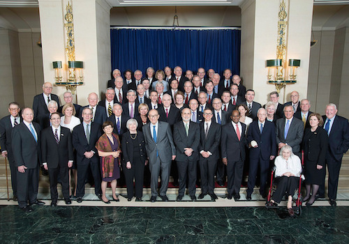 Current and former Board members and Reserve Bank Presidents