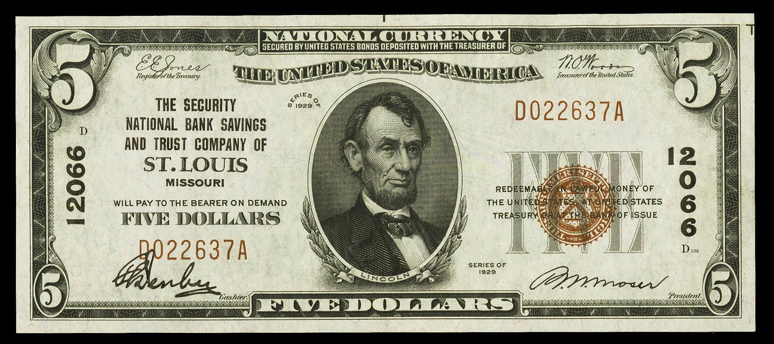 Dismal Facts: Federal Reserve Notes | Inside FRASER